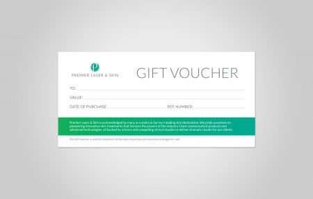 Gift Voucher Design for Premier Laser & Skin Clinic