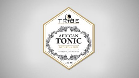 Graphic Label Design for Tonic
