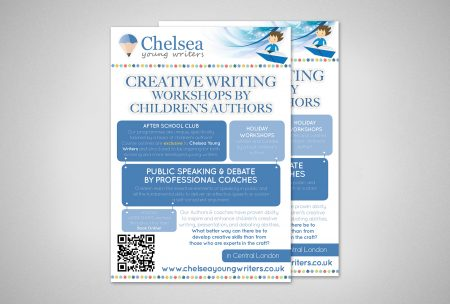 Graphic Service for Chelsea Young Writers