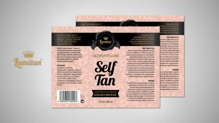 Label Design for Self Tan
