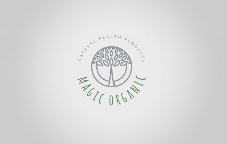 Logo Design for Magic Organic online Shop