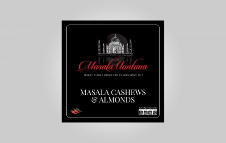 Masala Montana Label and Logo Design