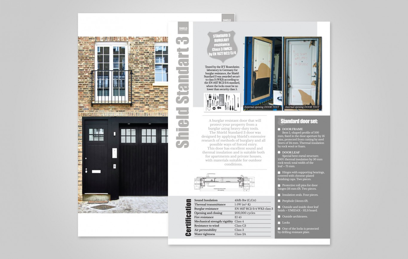 Shield Security Doors Catalogue 2016