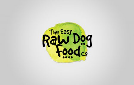 The Easy Raw Dog Food co Logo Design