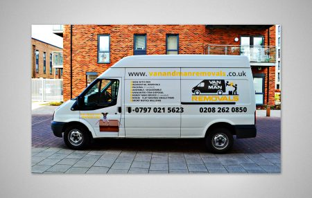 Van design for Van and Man Removals Service