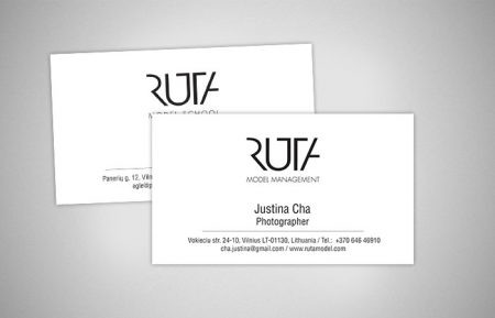 Designer Cards business for ruta