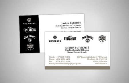 Card Graphic Design for Jack Daniels
