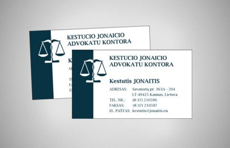 Business Card Design For Lawyer